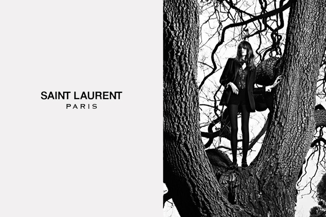 Saint Laurent осень-зима 2014/2015