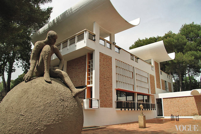 Музей Fondation Maeght в Сен-Поль-де-Вансе