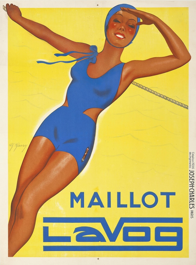 G. Garry. Maillot Lavog. Starting bid: ?600