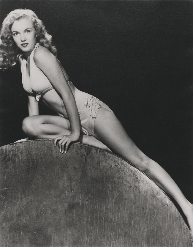 "Bernard of Hollywood (1912-1987). Norma Jean, ""Classic Pin-Up"". Starting bid: ?4,000"