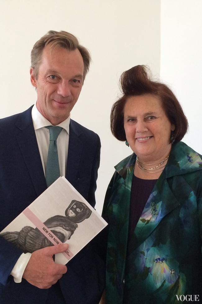 Suzy with Wim Pijbes, general director of the Rijksmuseum