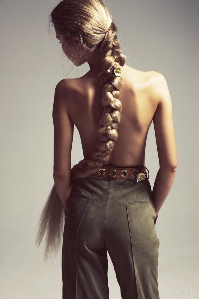 Прически для длинных волос | Vogue Ukraine - Vogue UA