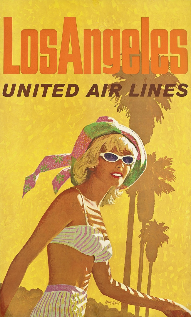 Stan (Stanley Walter) Galli (1912-2009). Los Angeles, United Air Lines. Starting bid: ?1,500