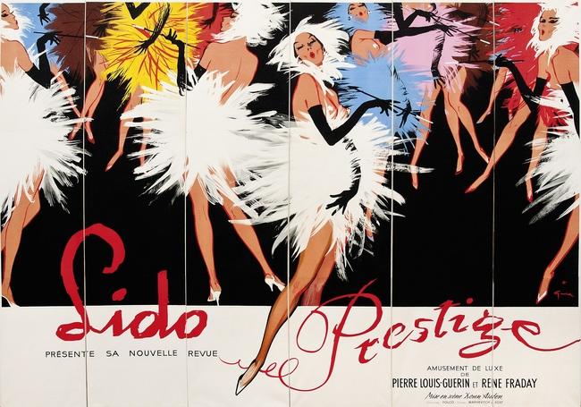 Lot 76. Ren? Gruau (Renato de Zavagli, 1909-2004). Lido Prestige. Starting bid: ?5,500