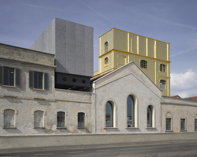 The Fondazione Prada compound