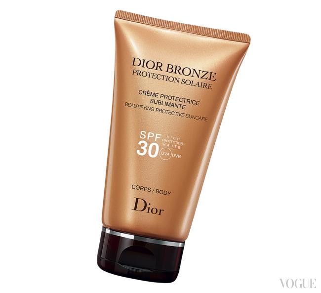 Солнцезащитный крем для тела Dior Bronze, SPF 30, PA, Dior