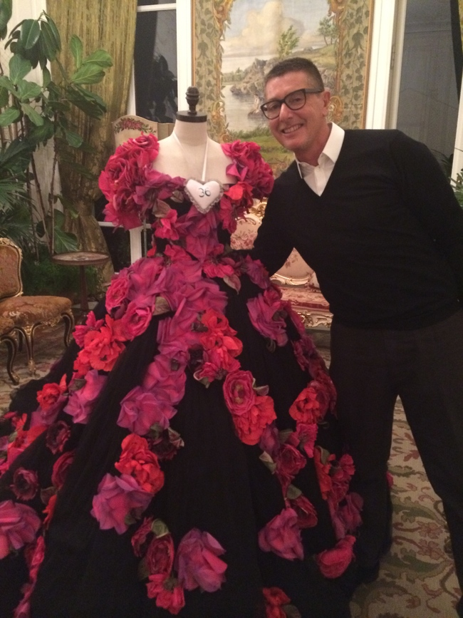 Stefano Gabbana at his high jewellery event