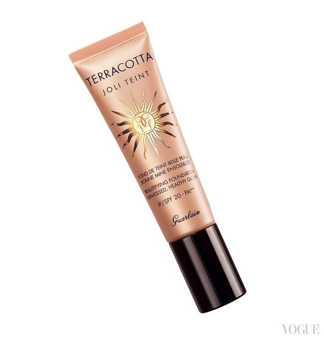 Солнцезащитное средство для сияния кожи Terracotta Joli Teint SPF 20 / PA++, Guerlain
