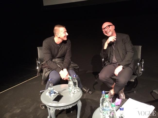 Разговор Доменико и Стефано с Сарой Мауэр в лондонской школе Central Saint Martins