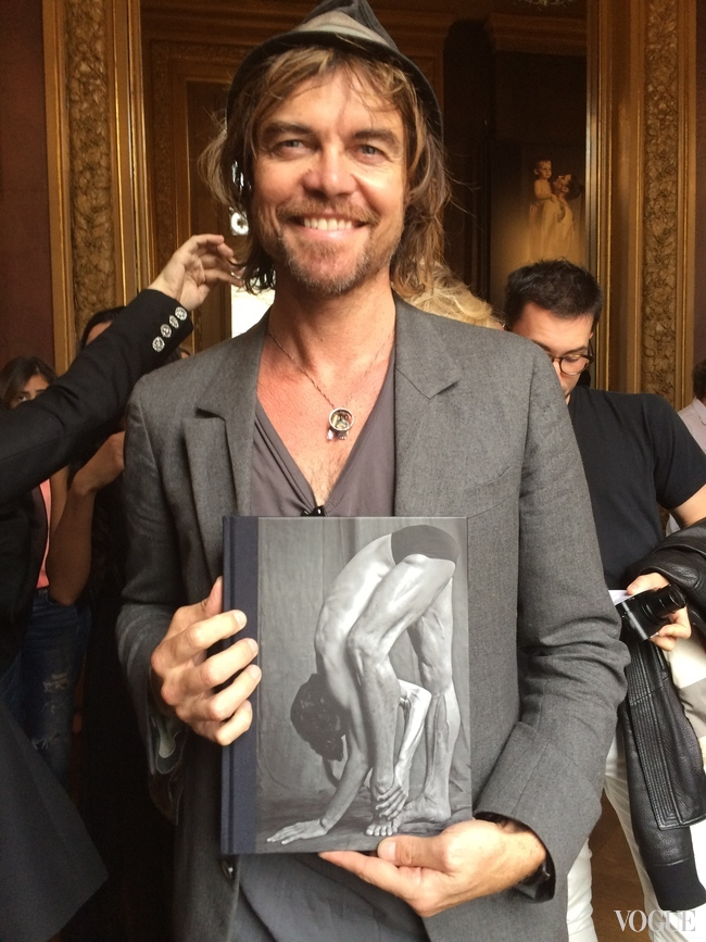 Michael Brooks with his new book Les Danseurs (Published by Damiani this autumn)