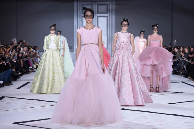 Показ Giambattista Valli Couture весна-лето 2015