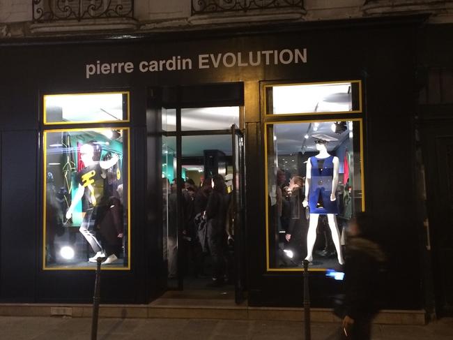 Pierre Cardin store, Evolution, in the Marais