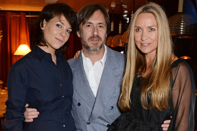 Left to right: Charlotte Stockdale, Marc Newson and Collette Dinnigan attend the launch of the new book 'Obsessive Creative', at Mr Chow
