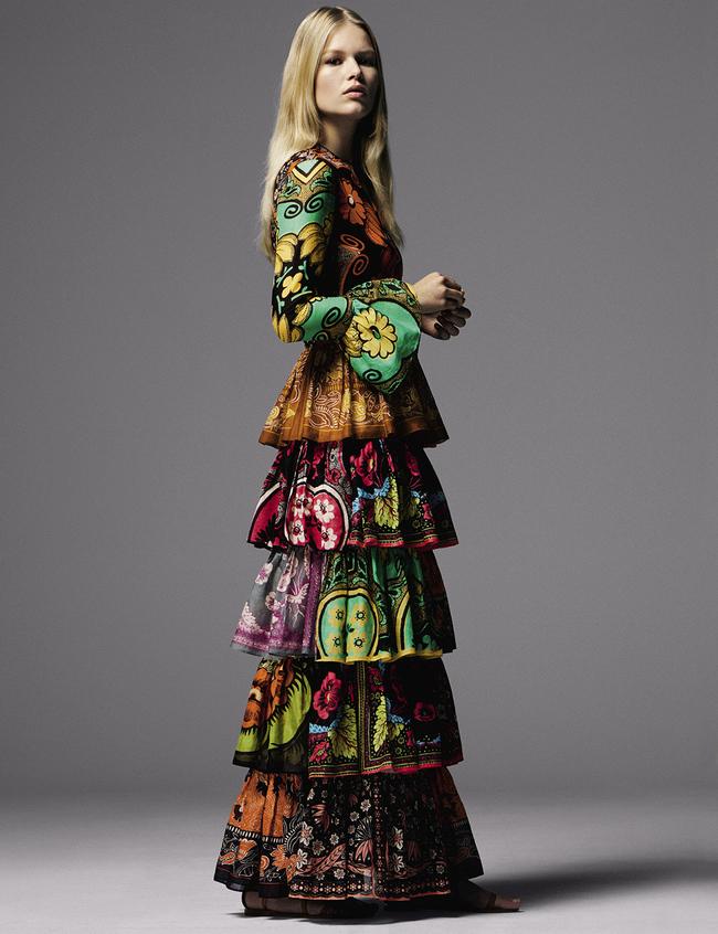 Шелковое платье, Valentino