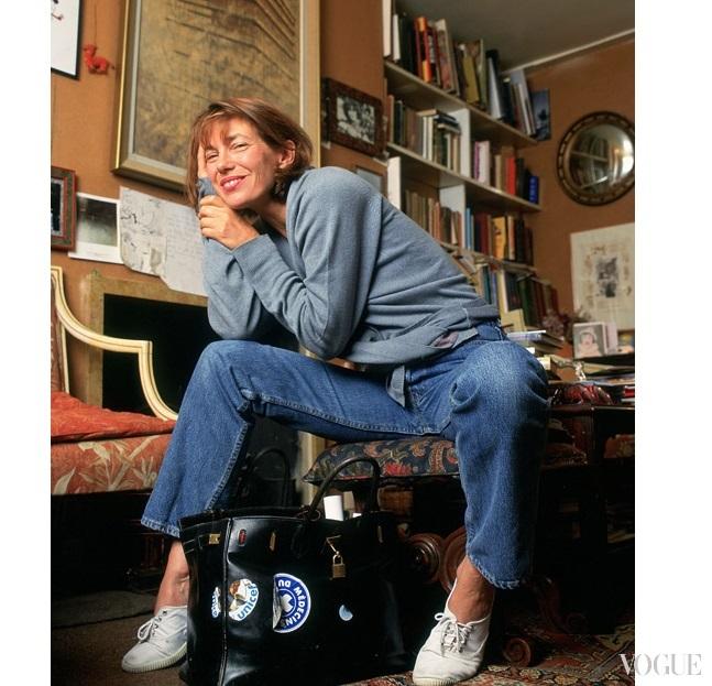 Артистка Джейн Биркин просит убрать свое имя ссумок Hermès