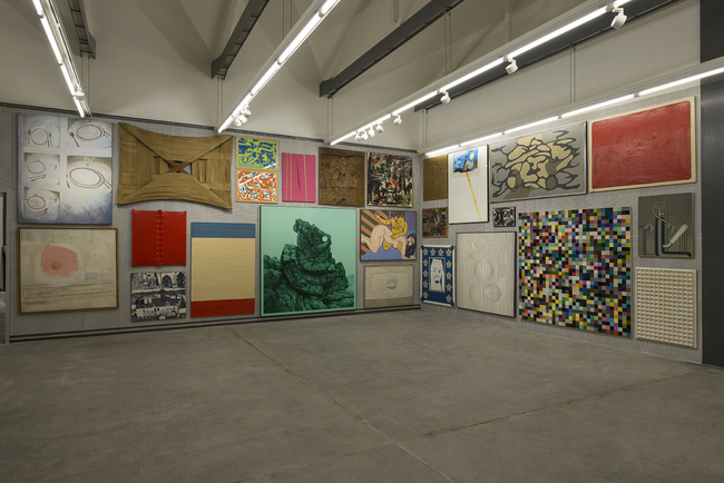 Art on display in Fondazione Prada