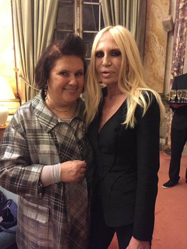 Suzy and Donatella