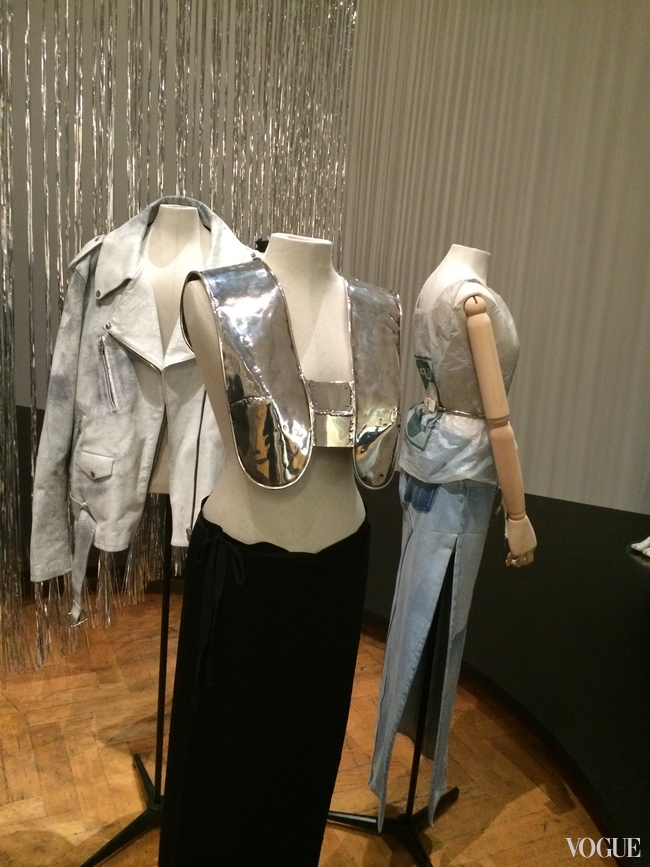 Martin Margiela deconstructed and reused outfits