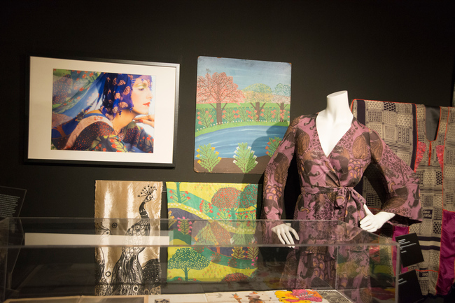The Thea Porter exhibition at London's Fashion and Textile Museum