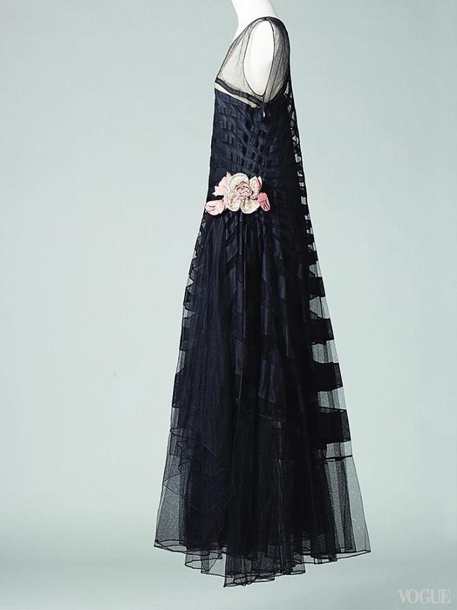 Платье Marguerite, лето 1929, на выставке Jeanne Lanvin в музее Galliera, Париж, 2015
