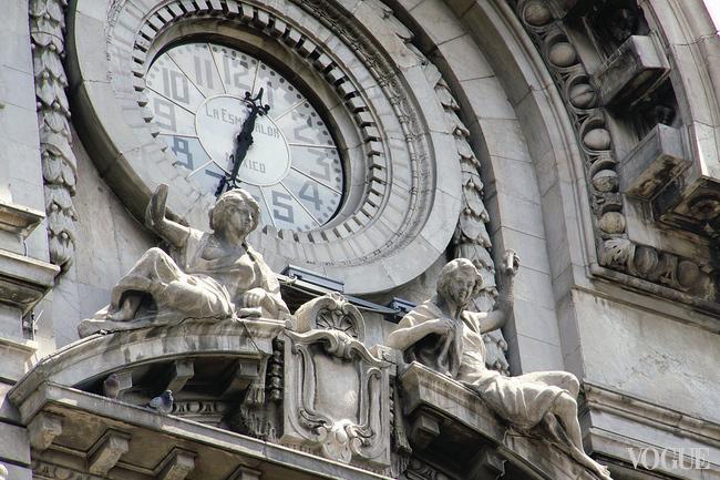 Барочные часовые башни – характерная примета Мехико