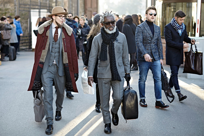 |street style pitti uomo