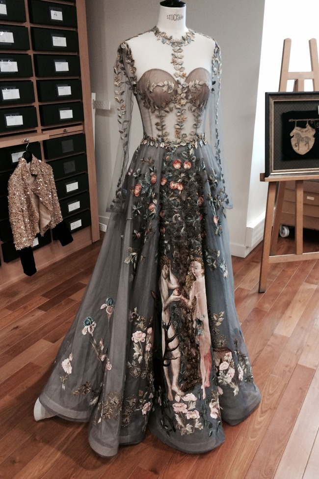 Le Jardin d'Eden dress by Valentino Couture spring 2014