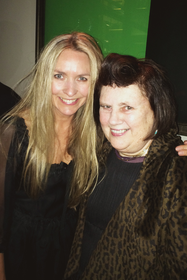 Suzy Menkes and Collette Dinnigan