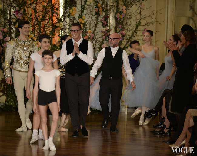 Dolce & Gabbana Alta Moda Teatro Alla Scala, показ января 2015 года