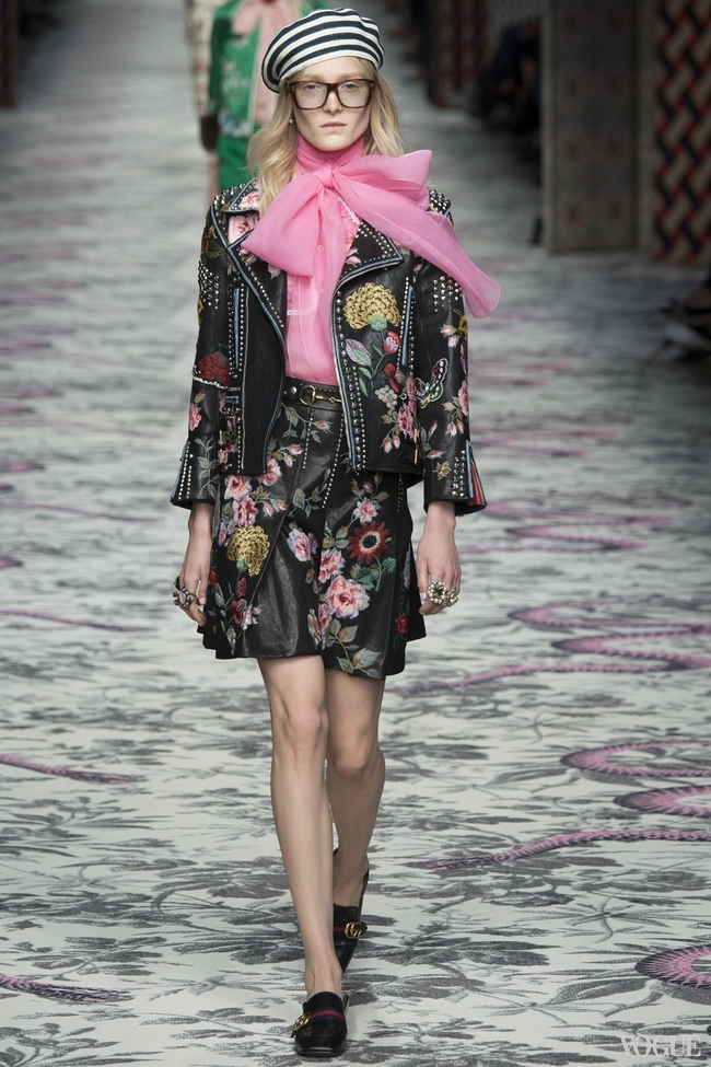 ALESSANDRO MICHELE'S DESIGNS FOR GUCCI S/S 2016