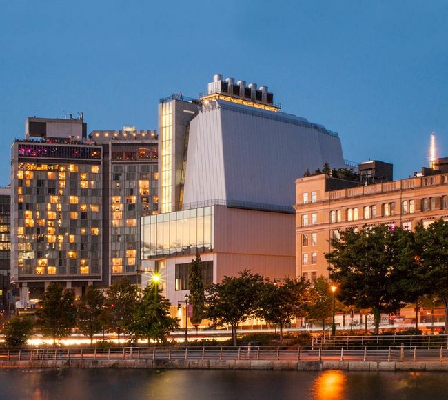 Музей Whitney Museum of American Art в Нью-Йорке