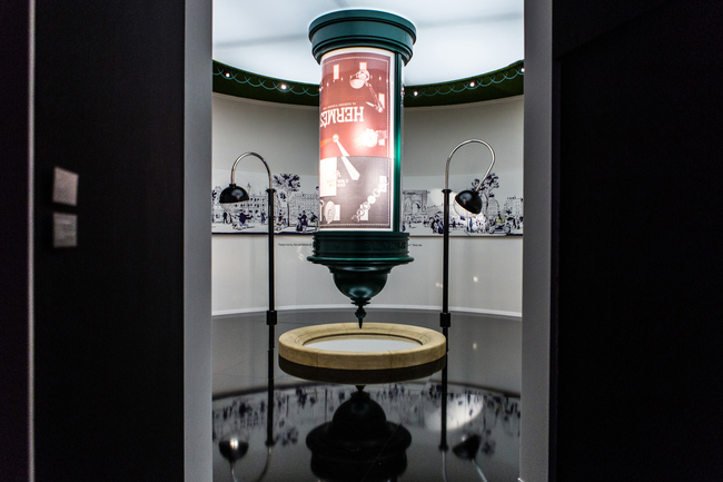 Herm?s Wanderland exhibition at The Saatchi gallery