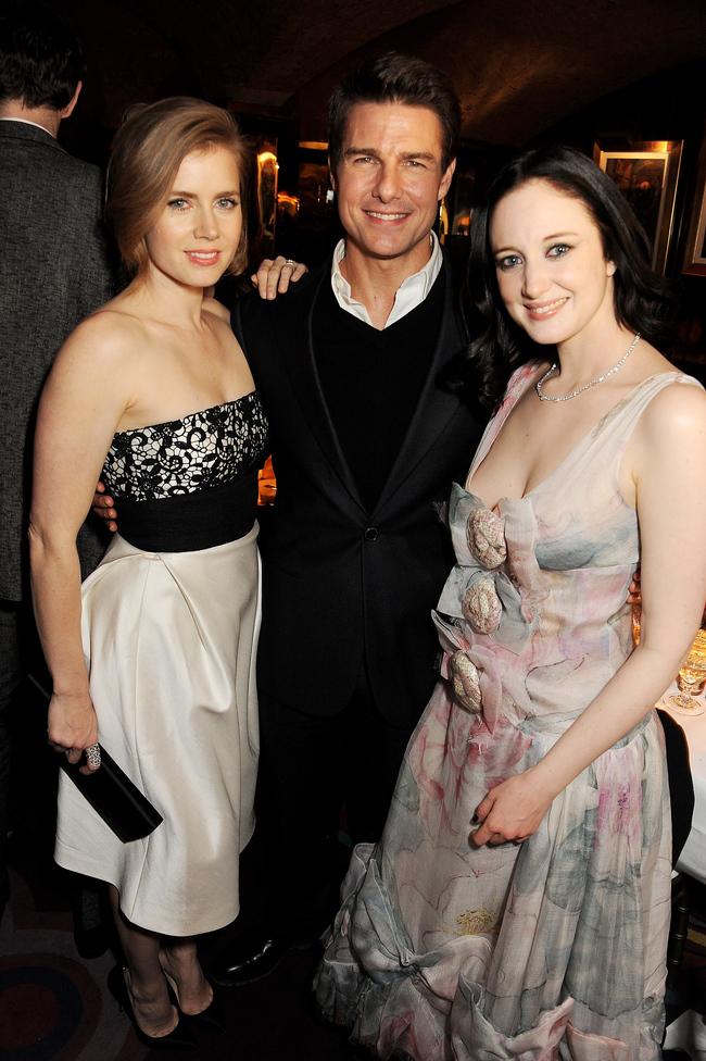 Эми Адамс, Том Круз и Андреа Райсбороу в клубе Annabel, 2013