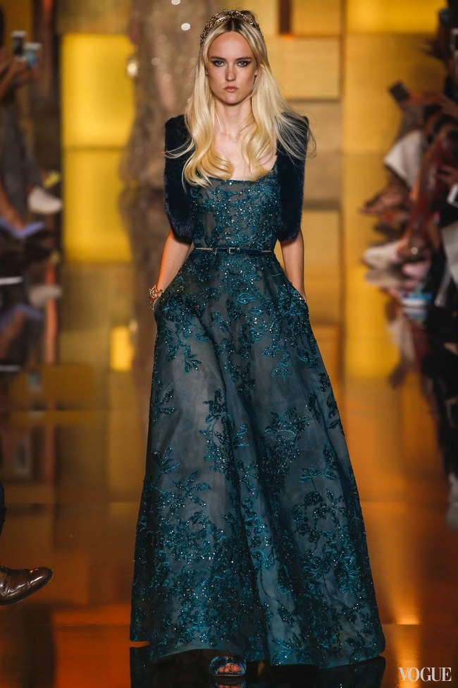 Elie Saab Fall Couture 2015