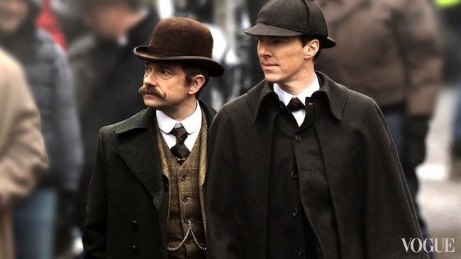 Рождественский выпуск «Шерлока» будет связан спривидениями