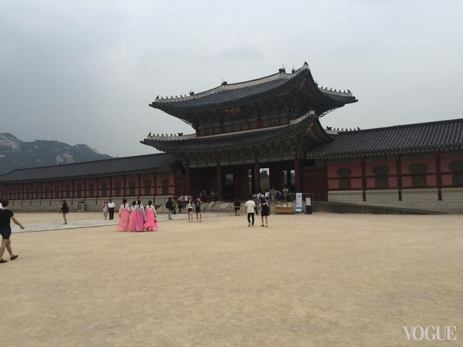Seoul's Gyeongbokgung Palace