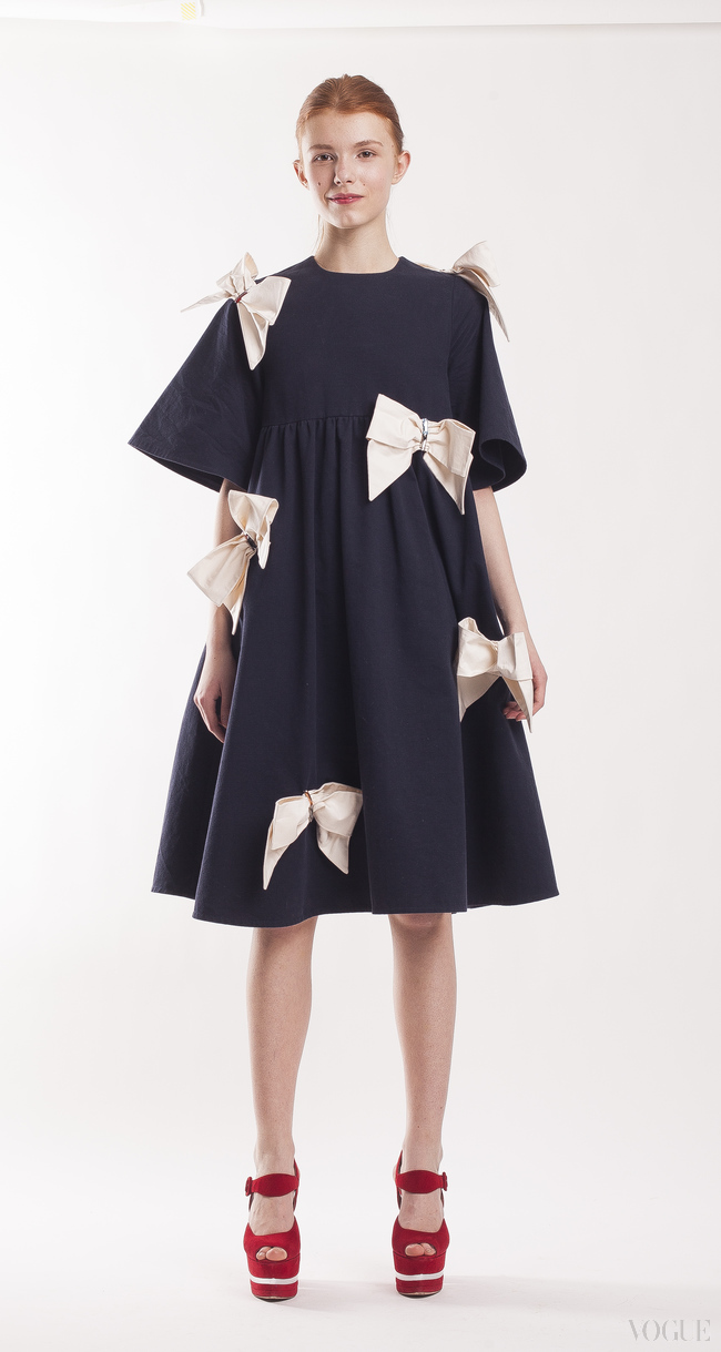 Платье Anna K на выставке Global Fashion Capitals
