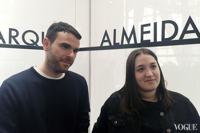 Marques' Almeida's Paulo Almeida and Marta Marques