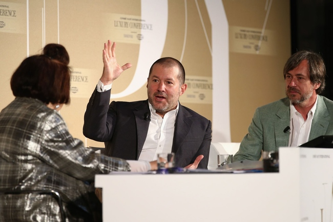Jony Ive and Marc Newson on the Apple watch with Suzy Menkes