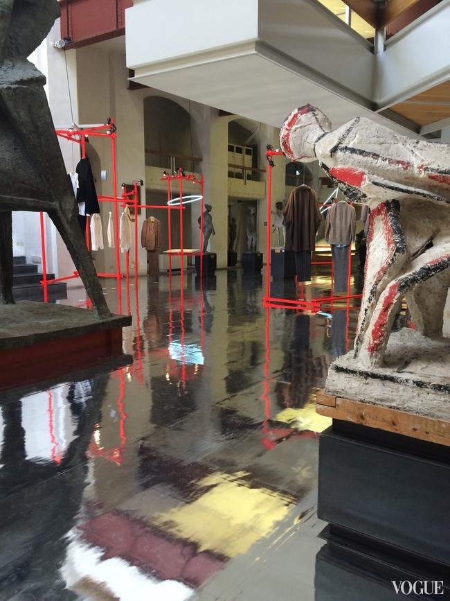 Signor Nino  exhibition at Florence's Marino Marini museum
