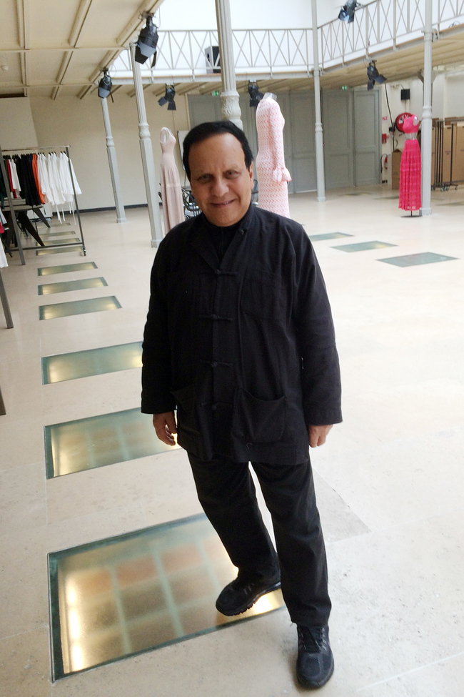 Alaia in his studio