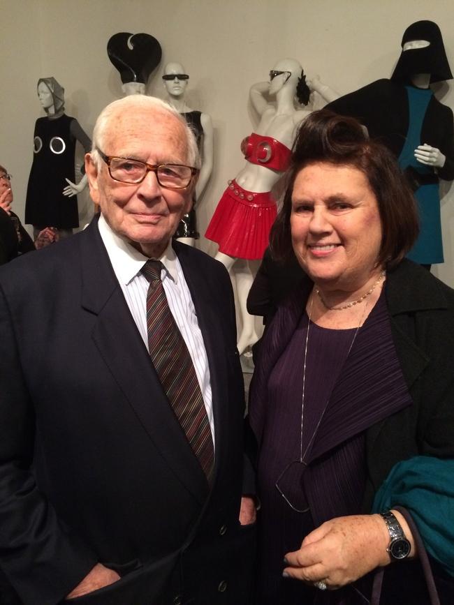 Suzy with Pierre Cardin