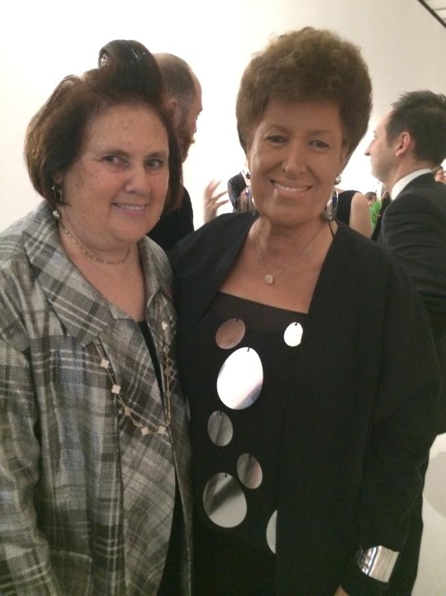 Suzy with Carla Fendi