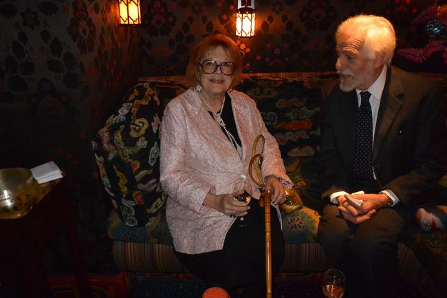 Леди Антония Фрейзер, мать Наташи, и Таде Клоссовски де Рола
