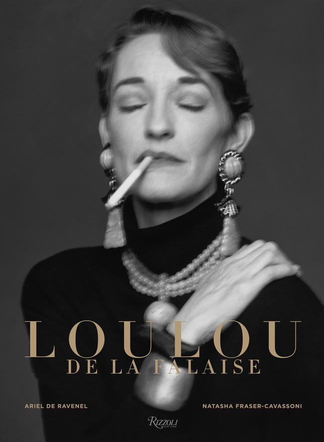 Обложка  книги Loulou de la Falaise, the Glamorous Romantic