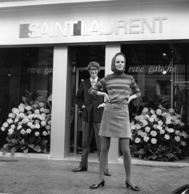 Ив Сен-Лоран, 1966