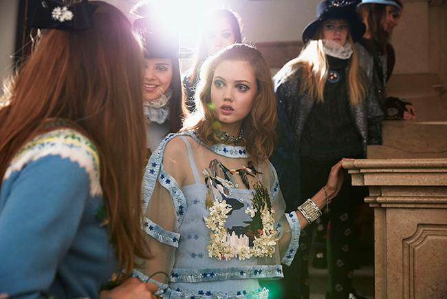 За кулисами показа Chanel Paris-Salzburg