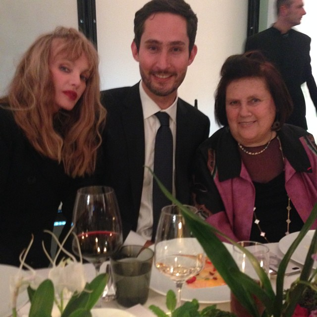 Arielle Dombasle, Kevin Systrom, Suzy Menkes