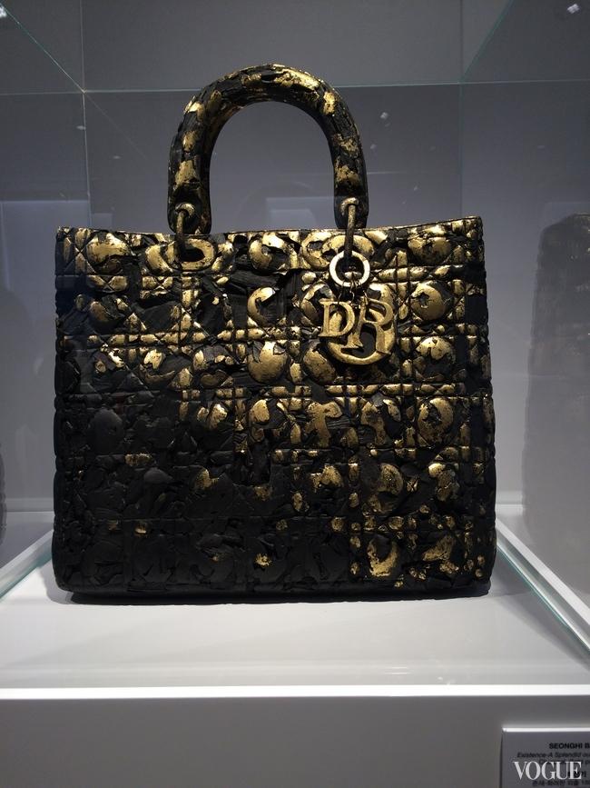 The Dior art bag