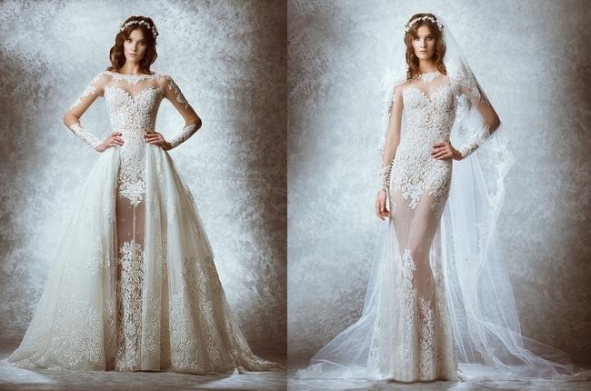 Платье 2 в 1 свадебное